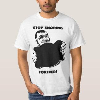 Humorous Snoring Remedy Tee Shirt