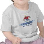 Humorous Snow Skiing T Shirts
