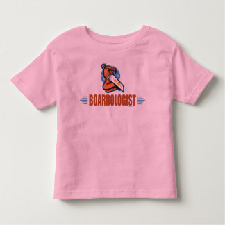 Humorous Snowboarder Fun Snowboarding Winter Sport Toddler T-shirt