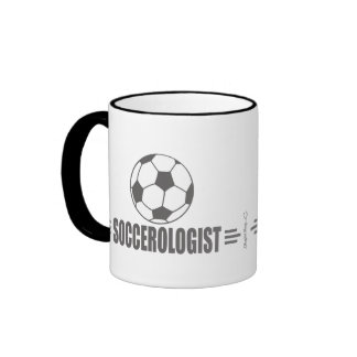 Humorous Soccer Ringer Coffee Mug