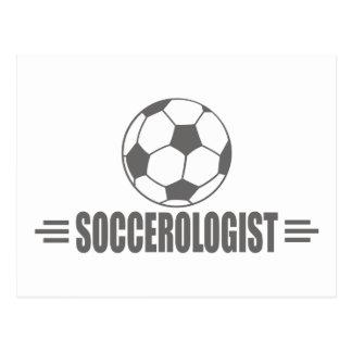Humorous Soccer Postcard