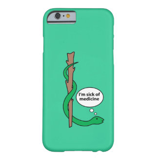 Humorous Staff of Asclepius Barely There iPhone 6 Case