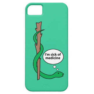 Humorous Staff of Asclepius iPhone 5 Covers