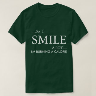 HUMOROUS T-SHIRT WITH A HEALTHY MESSAGE