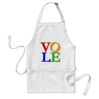 Humorous Take on LOVE T-shirts and Gifts Adult Apron