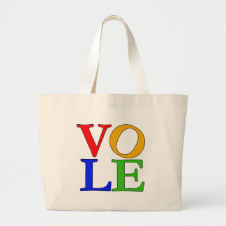 Humorous Take on LOVE T-shirts and Gifts Large Tote Bag