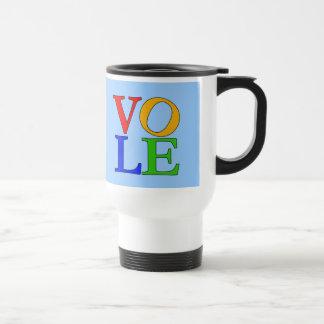 Humorous Take on LOVE T-shirts and Gifts Travel Mug