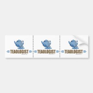 Humorous Tea Bumper Sticker