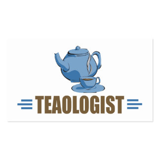 Humorous Tea Business Card