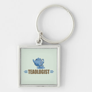 Humorous Tea Keychain