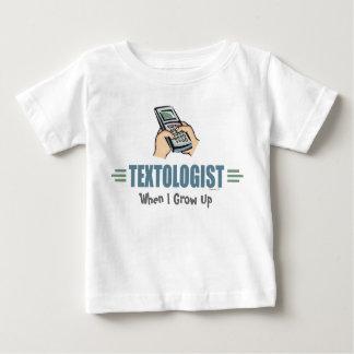 Humorous Texting Baby T-Shirt