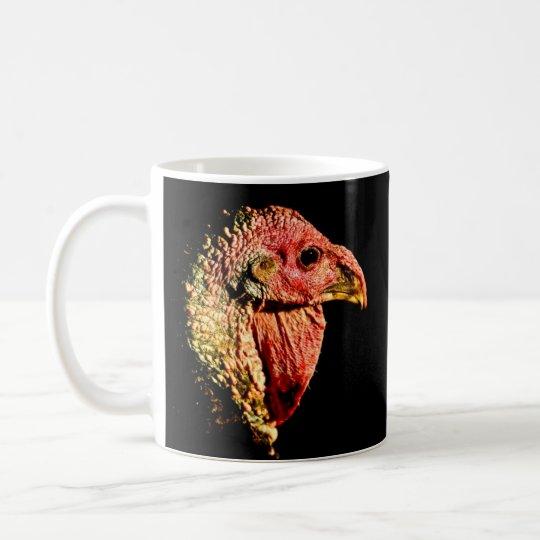Humorous Thanksgiving mug