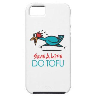 Humorous Tofu Design iPhone 5 Covers