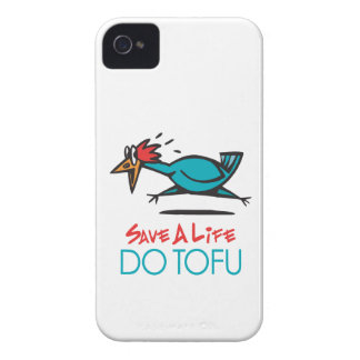 Humorous Tofu Design iPhone 4 Case-Mate Cases