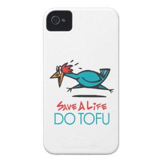 Humorous Tofu Design iPhone 4 Case-Mate Case
