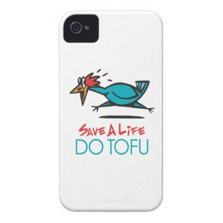 Humorous Tofu Design Case-Mate iPhone 4 Cases