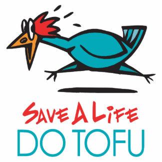 Humorous Tofu Design Cutout