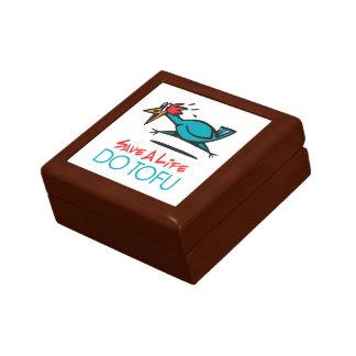 Humorous Tofu Design Trinket Box