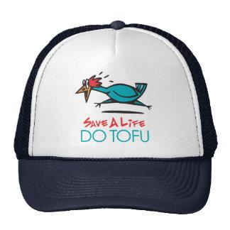 Humorous Tofu Design Hat