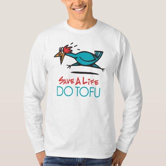 Humorous Tofu Design T-Shirt