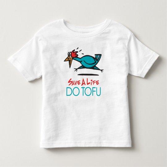 Humorous Tofu Design Toddler T-shirt