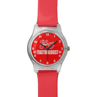 Humorous Tractor Lover Wristwatch