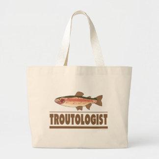 Humorous Trout Canvas Bag