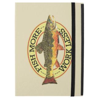 "Humorous Trout Fisherman's iPad Pro 12.9"" Case"