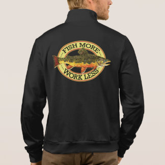 Humorous Trout Fisherman's Jacket