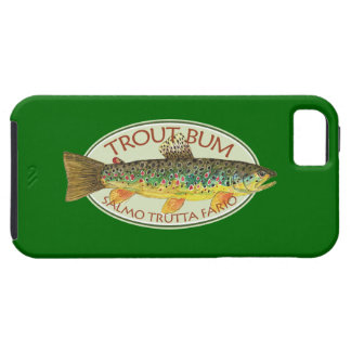 Humorous Trout Fishing iPhone SE/5/5s Case