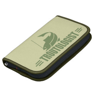 Humorous Trout Fishing Folio Planners