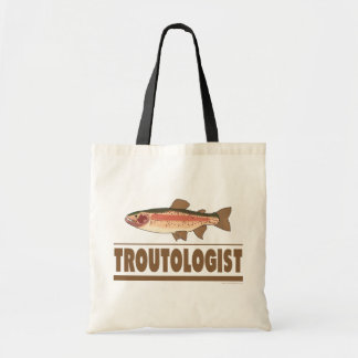 Humorous Trout Tote Bag