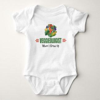 Humorous Vegetarian Baby Bodysuit