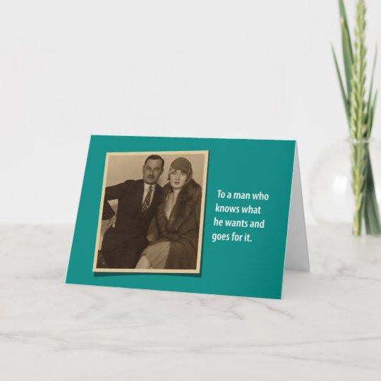 Humorous Vintage 1930s Birthday Gift Card Holder Zazzle