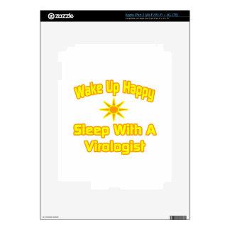 Humorous Virologist Shirts and Gifts iPad 3 Decal