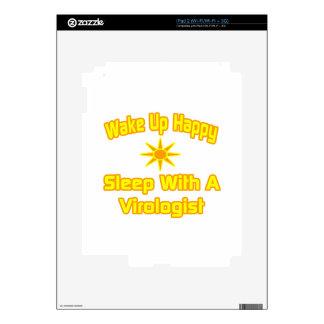 Humorous Virologist Shirts and Gifts iPad 2 Decal