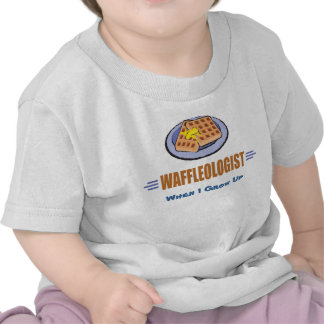Humorous Waffle Chef T-shirts