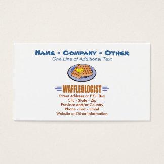 Humorous Waffles Business Card