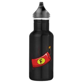 Humorous Water Bottle, F Bomb Dropping Water Bottle