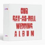 Humorous Wedding Album Binder