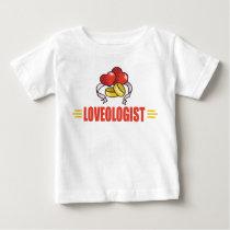 Humorous Wedding, Love Baby T-Shirt