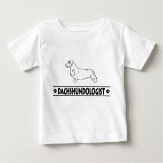 Humorous Wirehaired Dachshund Baby T-Shirt
