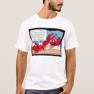 Humour Birthday Card with two crabs T-Shirt
