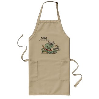 Humour: cook - apron