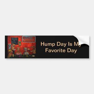 Hump Day Car Bumper Sticker