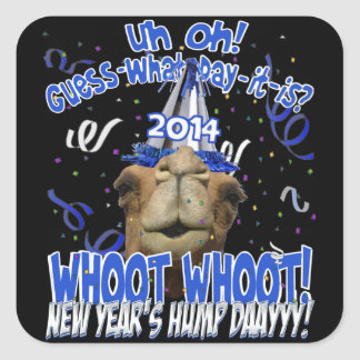 Hump Day Camel 2014 New Year s Keepsake Stickers