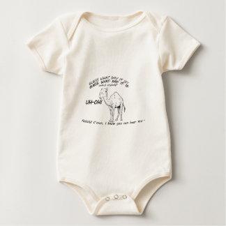 hump day camel baby bodysuit