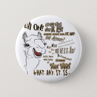 Hump Day Camel Button