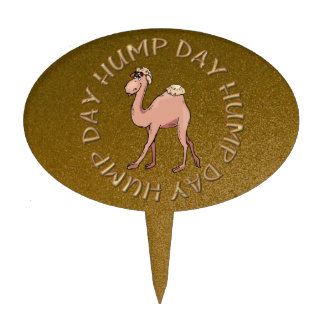 Hump Day Camel Cake Topper