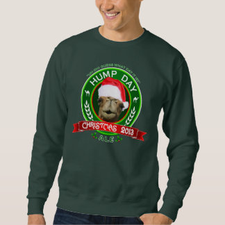 Hump Day Camel Christmas 2013 Ale Label Sweatshirt